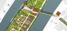 West 8 Urban Design & Landscape Architecture / projects / Ecological District Ile Saint-Denis