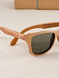 Pendleton Woolen Mills: CHIEF JOSEPH CHERRY WOOD SUNGLASSES