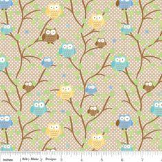 Riley Blake: Ril snips & snail cottons van iek-shop op DaWanda.com