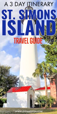 Simons Island Georgia Travel Guide: Saint Simons is the perfect place for a family getaway. Saint Simons greets travelers with gorgeous coastlines, historical sites, and more. St Simons Island Georgia, Georgia Islands, Jekyll Island Georgia, Vacation Trips, Day Trips, Weekend Trips, Weekend Getaways, Vacation Ideas, Georgia Beaches