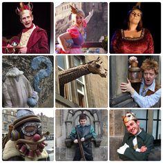 The full 2015 Edinburgh Fringe Cast.