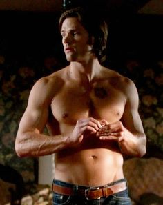 oh Jared, Jared, Jared. --Sometimes I wish I would get attacked by a ghost or something supernatural so I could have a (younger) winchester come save me