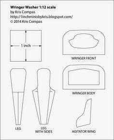 miniature furniture tutorials. dollhouse miniature furniture tutorials 1 inch minis inch scale wringer washer tutorial