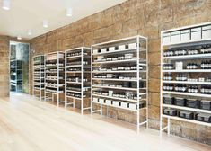 Henry Wilson Studio converts former bakery into Sydney Aesop store Retail Business Ideas, Henry Wilson, Aesop Store, Retail Shelving, Sandstone Wall, Interior Architecture, Interior Design, Retail Concepts, Retail Interior