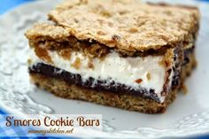 Mommy's Kitchen - Recipes From my Texas Kitchen!: S'mores Cookie Bars (Delicously Deadly}
