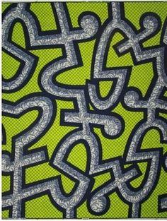 APPLEJACKS: African Batik Fabric: Veritable Wax Hollandais