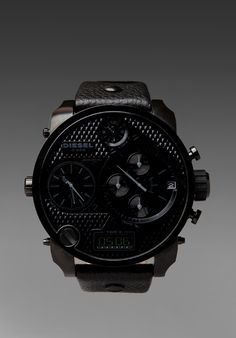 DIESEL DZ7193 SBA Watch in All Black at Revolve Clothing - Free Shipping!
