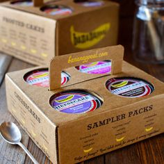 Bananappeal. Its collection of gourmet mail order desserts arrive ready to eat in nifty glass jars that dare you to dig right in. From salted caramel to toasted coconut, each mouthwatering cake shows off the fruit's amazing taste.