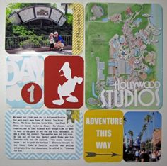 Hollywood Studios Disney Vacation Album Project Life Style