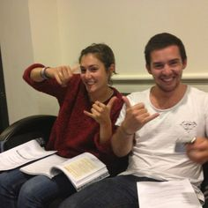Taken just after they found out they passed! Well done Rach and Nath! Super effort guys.