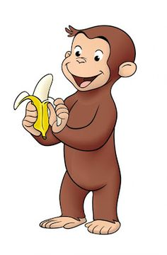 Get Curious with George! Kids can operate wheels to help George climb a… Curious George Party, Curious George Birthday, 3rd Birthday Parties, Birthday Party Favors, Kid Parties, Birthday Cakes, 2nd Birthday, Curious George Invitations, Curious George Coloring Pages