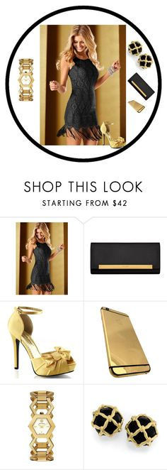 """""""Goldilocks 2"""" by laisy-daisy ❤ liked on Polyvore featuring mode, Venus, Yves Saint Laurent, Fabulicious en Tory Burch"""
