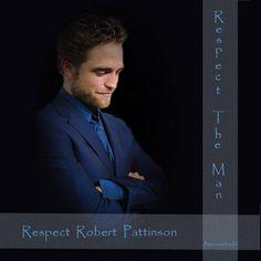 #RespectRobertPattinson