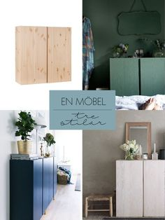 Ivar cabinets from IKEA in three different ways - domesticated Units Ikea Furniture, Furniture Makeover, Ikea Ivar Cabinet, Diy Interior, Interior Design, Ikea Decor, Casa Clean, Ikea Hack, Home Decor Inspiration
