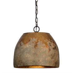 Forty West Heritage Washed Gold One Light Pendant 70202 Rustic Pendant Lighting, Rustic Light Fixtures, Kitchen Lighting Fixtures, Antique Lighting, Pendant Light Fixtures, Light Pendant, Industrial Lighting, Copper Pendant Lights, Cabin Lighting