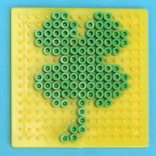 melty beads patterns for St. Patrick's Day