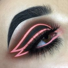 """14.5k Likes, 322 Comments - Roberta (@robertavixen) on Instagram: """"Neon Orange _ Hey guys I've been preparing some makeup look in these days, so I will be more…"""""""