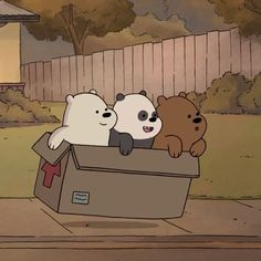 Their bond is so cute and wholesome❤️ We Bare Bears Wallpapers, Panda Wallpapers, Cute Cartoon Wallpapers, Cute Panda Wallpaper, Bear Wallpaper, Cute Disney Wallpaper, Ice Bear We Bare Bears, We Bear, Bear Cartoon