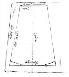 Cartamodelli per gonne lunghe (Foto 6/16)   PourFemme