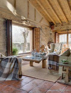 Estancias confortables, luminosas y acogedoras son la tónica en toda la vivienda