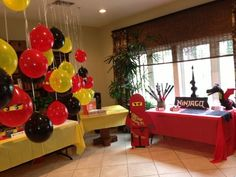 Lego Ninjago Party | Flickr - Photo Sharing!