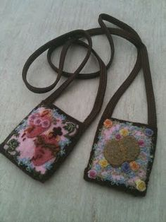 Beautiful Brown Scapular ~ I am hoping to make some of these for my family