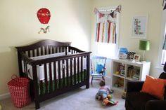 Super fun baby boy nursery