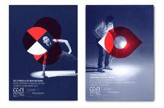 Centre Chorégraphique de Tours / Atelier Müesli | Design Graphique