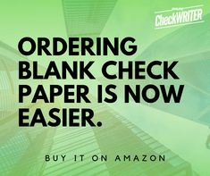 Ordering checks - Online and print it on demand from multiple banks