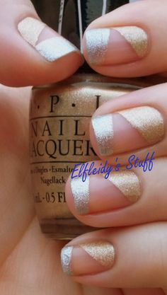 Silver and gold modified french