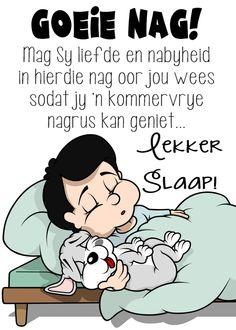 Good Night Greetings, Good Night Gif, Goeie Nag, Sleep Tight, Afrikaans, Words, Memes, Blessings, Amanda