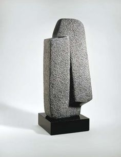 """The essence of sculpture is for me the perception of space, the continuum of our existence"" - ISAMU NOGUCHI - Brancusi Sculpture, Art Sculpture, Pottery Sculpture, Outdoor Sculpture, Abstract Sculpture, Stone Sculptures, Isamu Noguchi, Art Pierre, Crystal Garden"