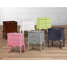 Furniture of America Traditional Two-drawer Nightstand