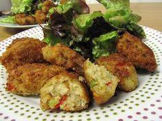 croquetas de avena y verduras