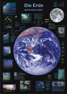 The Earth - the blue planet                                                                                                                                                                                 Mehr