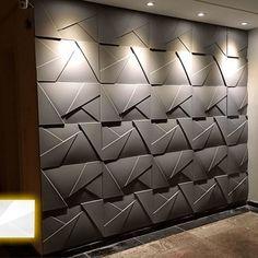 Luxury Interior, Interior Architecture, Loft Design, House Design, Wall Decor Design, 3d Wall Panels, 3d Home, Design Moderne, Cuisines Design
