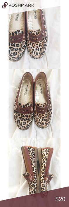 Sperry Top-Sider leather Loafers Sperry Top-Sider leather Loafers.  Genuine leather and calf hair.  Great condition. Women's size 6.  No box. Sperry Top-Sider Shoes Flats & Loafers