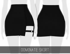 DOMINATE SKIRT at Simpliciaty • Sims 4 Updates