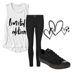 """""""Untitled #29"""" by embozant on Polyvore featuring Indigo Collection and Converse"""