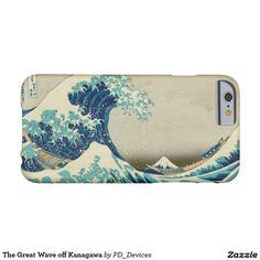 The Great Wave off Kanagawa Mount Fuji Japanese Woodblock Print Barely There iPhone 6 Case