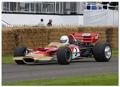 1970 Lotus Ford Cosworth 49C F1. Goodwood Festival of Speed 2012