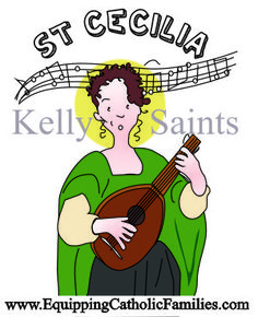 Celebrating the Feast Day of St Cecilia with a visit to her Basilica in Rome and making DIY musical instruments to honor the patron saint of musicians. Patron Saints, Catholic, Musicals, Musical Instruments, Celebrities, Rome, Families, November, Fun