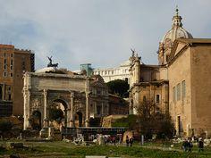 Rome, Italy The Forum