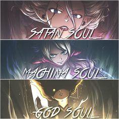 Mirajane Strauss, Jenny Realight and Dimaria Yesta (Fairy Tail)