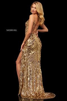 f50cd5b07fd Sherri Hill 52558 Sparkling Sequin Prom Dress