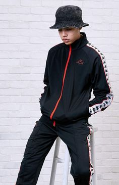 Kappa Banda Anniston Slim Track Jacket