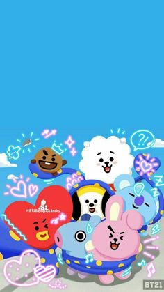 Check out this awesome collection of wallpapers, with 39 wallpaper pictures for your desktop, phone or tablet. Army Wallpaper, Bts Wallpaper, Iphone Wallpaper, Bts Chibi, Bts Army Logo, Bts Pictures, Photos, Line Friends, Billboard Music Awards