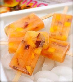 Recette de glace à l'eau - 5 idées de sucettes glacées que les enfants adoreront