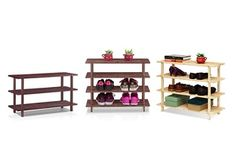 Groupon - Furinno 3 and 4-Tier Shoe Storage Shelves. Multiple Styles Available from $ 16.99-$18.99.  in [missing {{location}} value]. Groupon deal price: $16.99