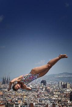 Jump Over The World   BCN ✨ #TheCrazyCities  #crazyBarcelona